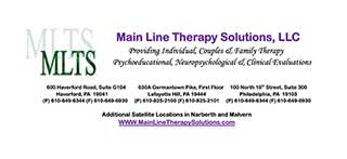 Main Line Therapy Solutions, LLC, Group Practice in Pennsylvania