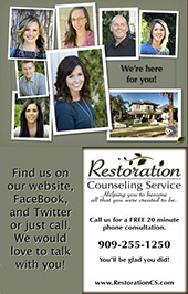 Restoration Counseling Service, Group Practice near San Bernardino